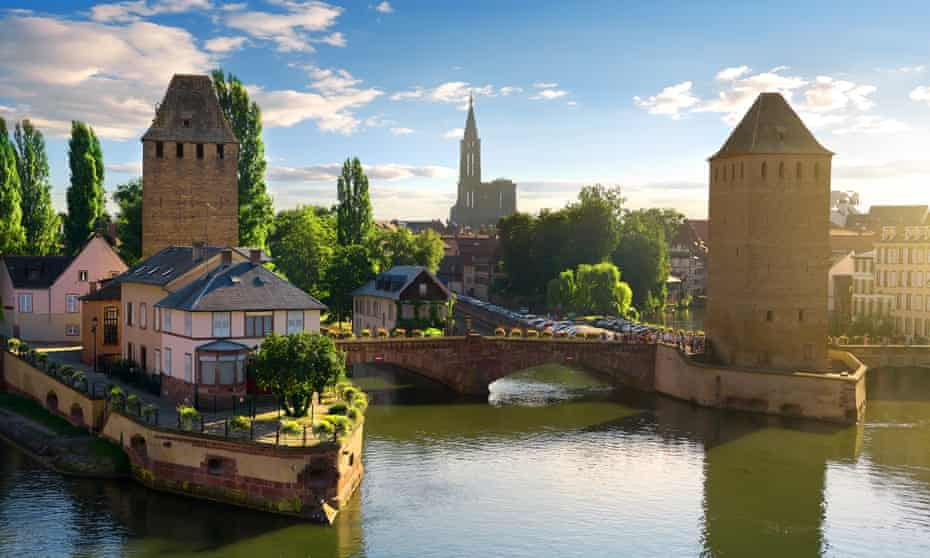 Pont Couverts in Strasbourg.