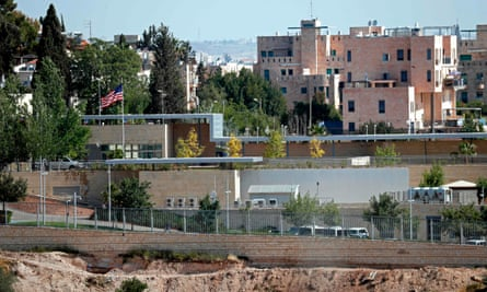 The new location of the US embassy in Jerusalem