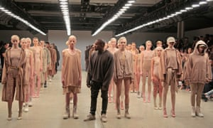 Kanye west new york fashion show 2015