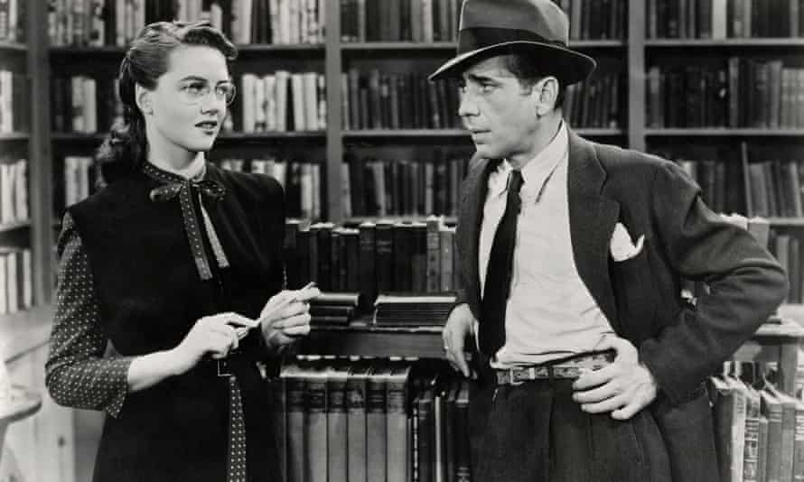'This gendering of mirth peaks in the years before and after World War Two, and Raymond Chandler is a typical expression of its consequences for men' ... The 1946 adaptation of Raymond Chandler's The Big Sleep
