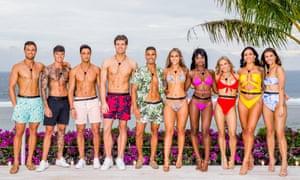 Love Island Australia Season two cast. Left to right: Gerard, Adam, Sam, Matthew, Maurice, Cassie, Cynthia, Jessie, Vanessa and Cartier.