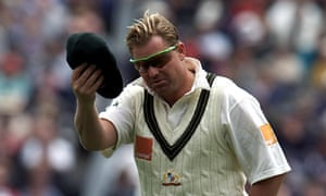 Shane Warne and his baggy green