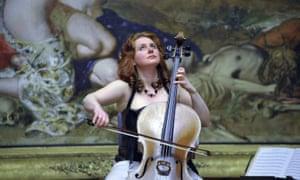 Manchester Camerata principal cellist Hannah Roberts.