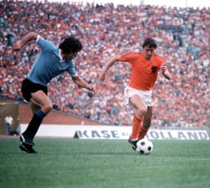 Johan Cruyff at the 1974 World Cup