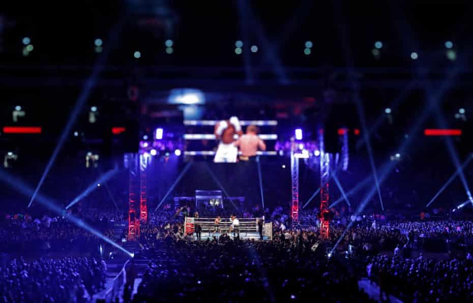 Anthony Joshua v Alexander Povetkin World Heavyweight boxing title fight at Wembley Stadium in September 2018