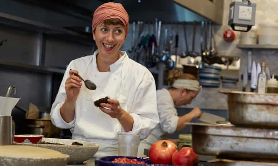 Marianna Leivaditaki, an immigrant from Crete, is the head chef at Morito restaurant in East London.