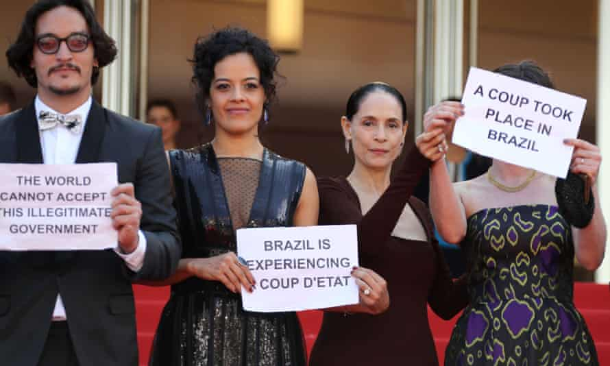 Protest at Cannes