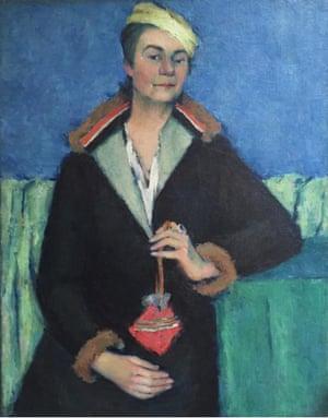 The portrait of Elizaveta Yakovleva.