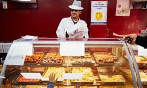 Sami Rao at KCB bakery in Keighley