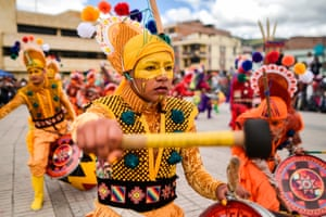 Banging the drum for equality: the festival is considered an expression of a desire for tolerance and respect