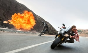 Tom Cruise in Mission: Impossible - Rogue Nation.