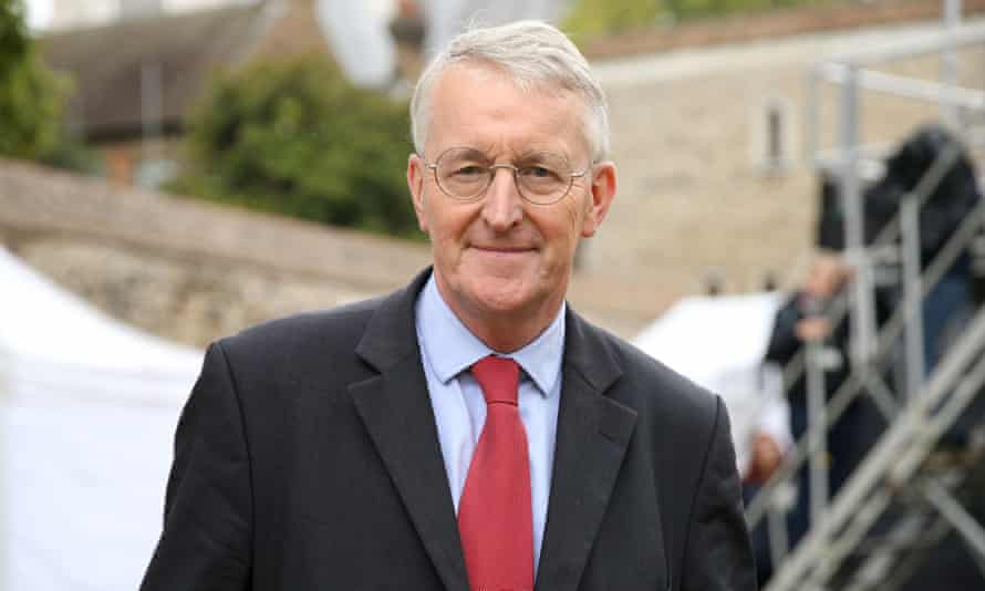Hillary Benn, chair of the Brexit select committee.