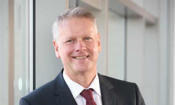 Colin Riordan, vice-chancellor, Cardiff University