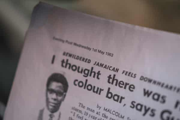 A copy of the Bristol Evening Post from 1963 records Reid-Bailey as a 'bewildered Jamaican'