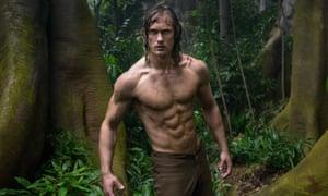 Skarsgård in The Legend Of Tarzan.