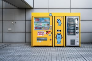 Photographs of vending machines in Tokyo, Japan by London-based photographer Tim Easley..