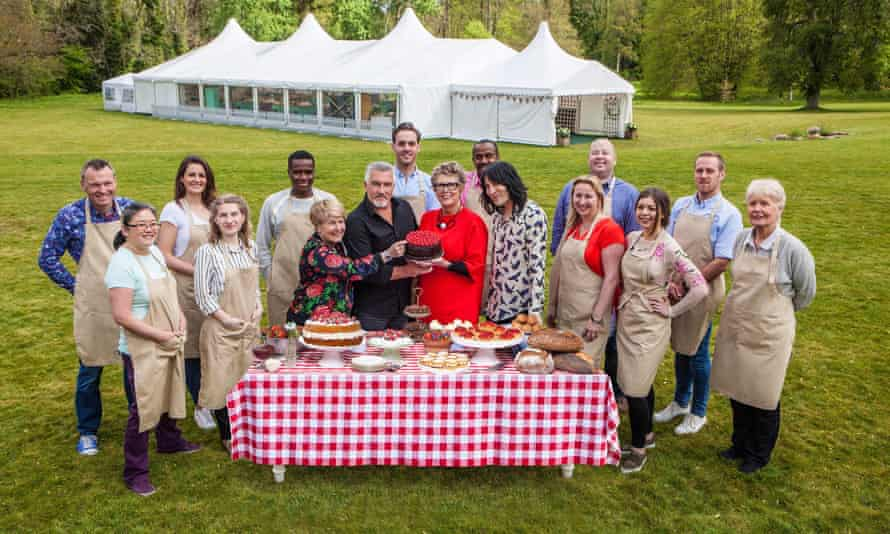 Back in the marquee … the new-look Great British Bake Off.