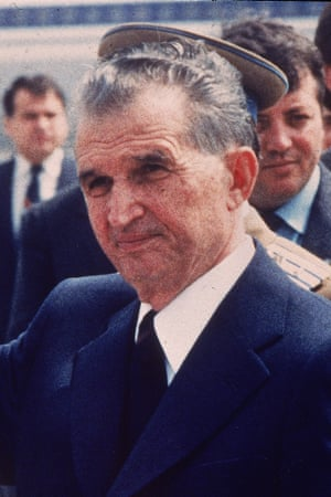 Nicolae Ceauşescu in May 1987