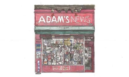 Adam's News, Byres Road, Glasgow