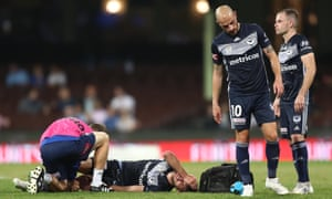 Terry Antonis injury, A-League Big Blue