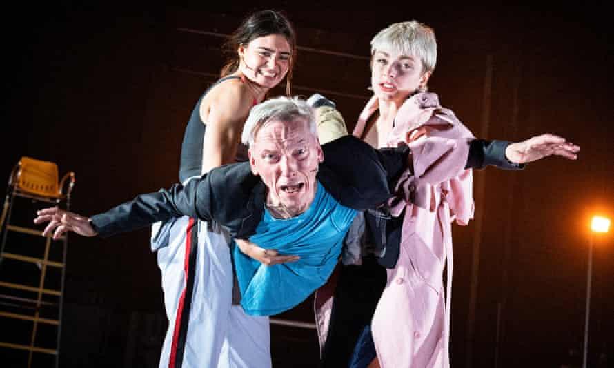 Feeling real … Finetta Oliver-Mikolajska, Shelley Eva Haden and Donald Hutera.