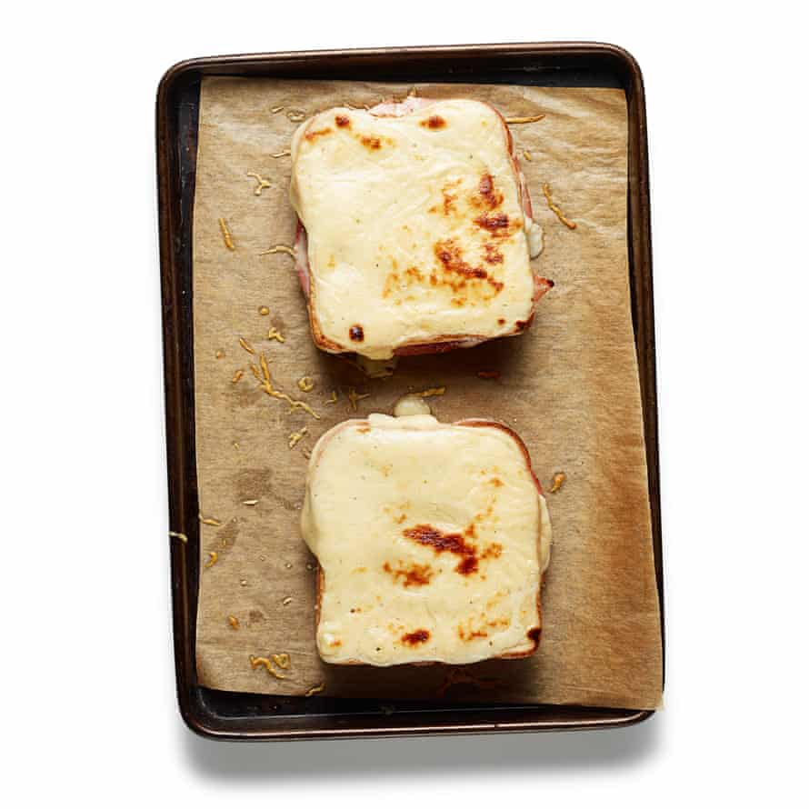 The perfect croque monsieur step 10