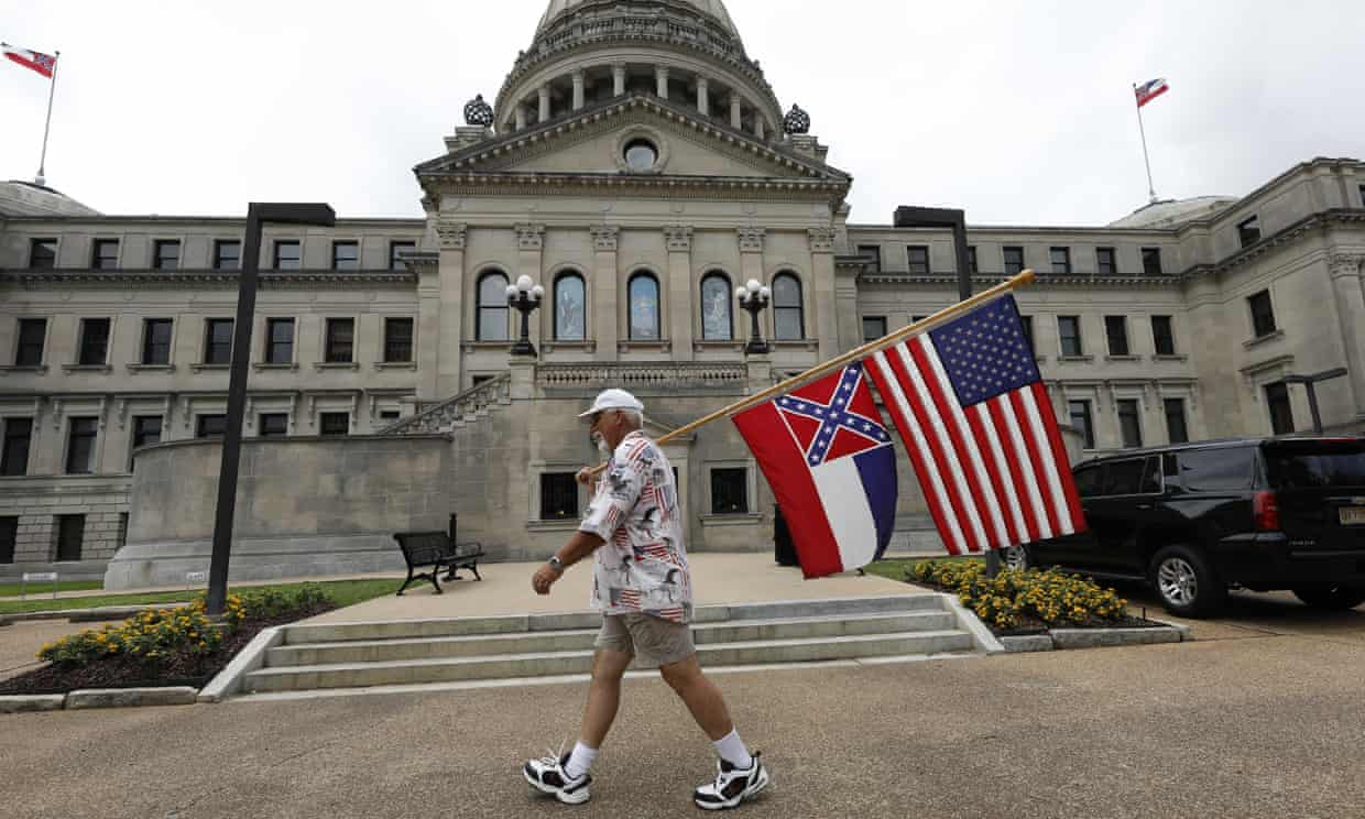 Mississippi House clears way for removal of Confederate symbol from state flag