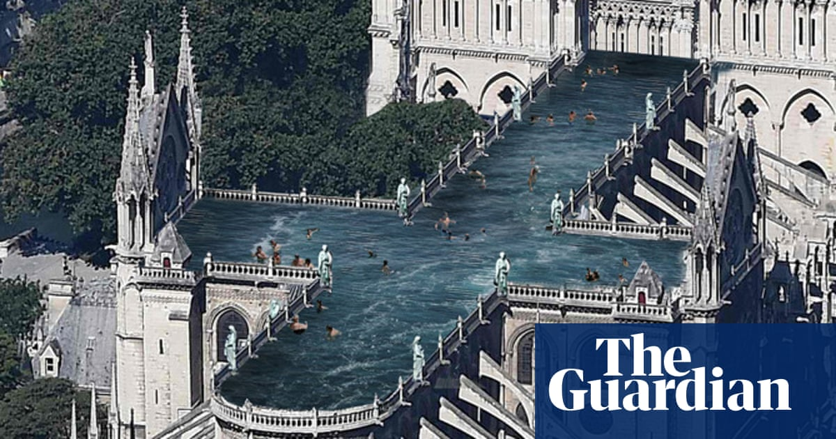 Rooftop swimming pool? Notre Dame proposals ignore tradition