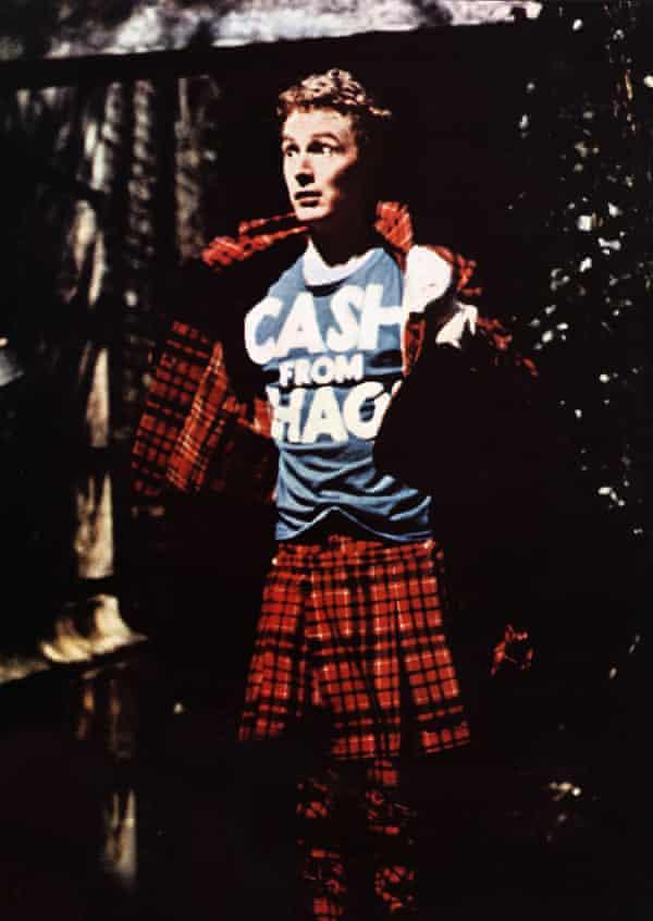 Malcolm McLaren in The Great Rock 'n' Roll Swindle.