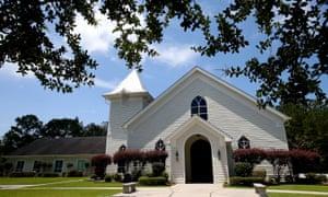 A general view of Faith Presbyterian Church in Covington, Louisiana