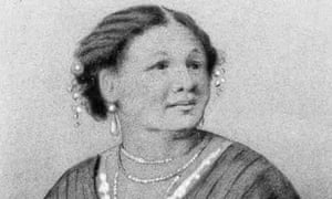 Portrait of Mary Jane Seacole (1805-1881), who set up a 'British Hotel' behind the lines during the Crimean War. Dated 1870.
