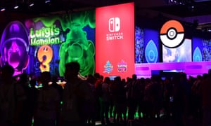 Away from the technological arms race … Nintendo at E3.
