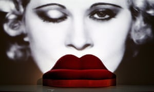 Salvador Dalí's Mae West lips sofa