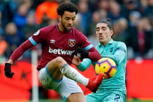 Brazilian midfielder Felipe Anderson has – like many of his West Ham colleagues – blown hot and cold this season.