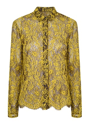 Blouse, £59, by Topshop.