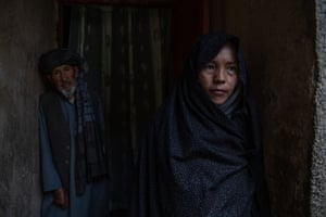 Nikbakht Haideri mourns her 13-year-old daughter, Hosnia, who was killed while walking home from school.