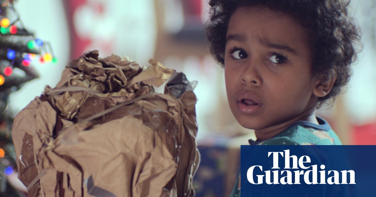 John Lewis Christmas Ad.A Shrugging Note That Says Will This Do John Lewis