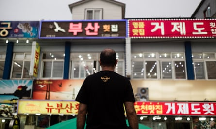 Jamal Al-Nasiri in Jeju, South Korea, where more than 550 Yemeni asylum seekers have sparked a backlash against refugees.