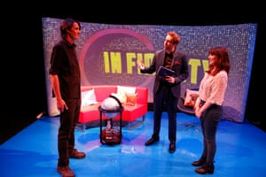 In Fidelity written by Rob Drummond directed by Steven Atkinson at the Traverse theatre