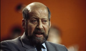 Sir Clement Freud in 1986.