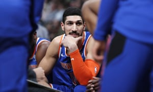 Enes Kanter has refused to travel to London ofter saying he fears assassination