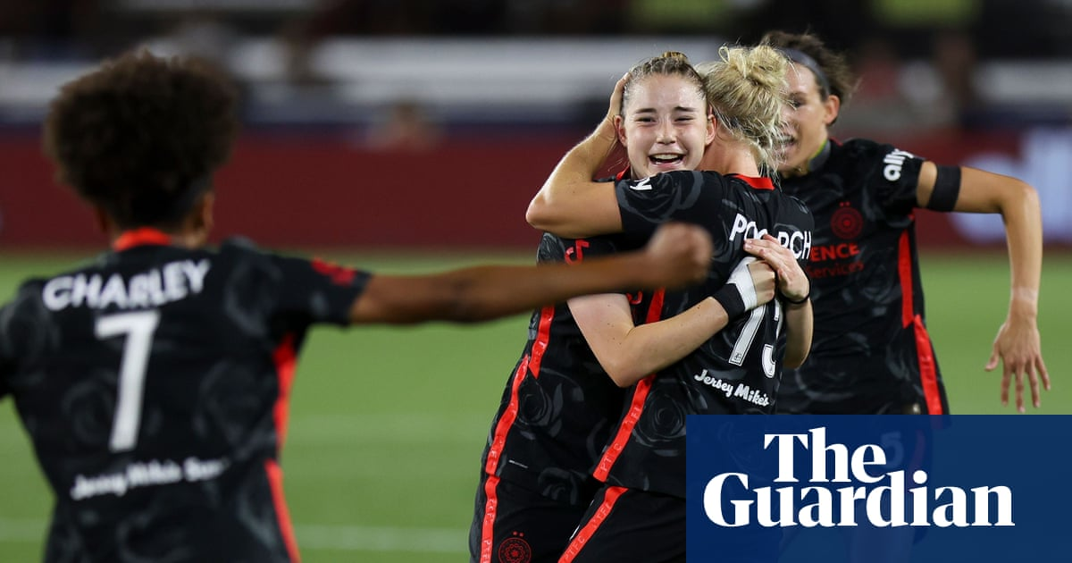 Olivia Moultrie, 15, scores first pro goal as Portland Thorns reach WICC final