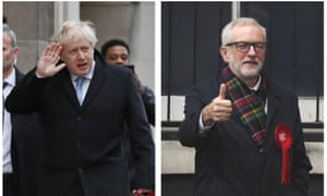Boris Johnson and Jeremy Corbyn received the most abuse according to the PoliMonitor analysis