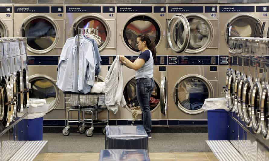 """World Largest Laundromat"" 01 June 2006 in Berwyn, Illinois"