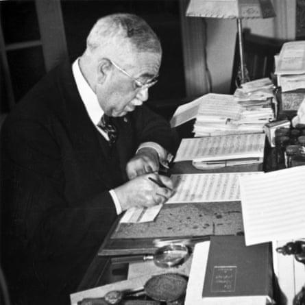 Composer Harry Burleigh (1866-1949)