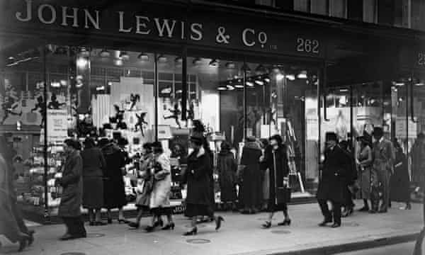 John Lewis and Co's department store in Oxford Street, London, 1936