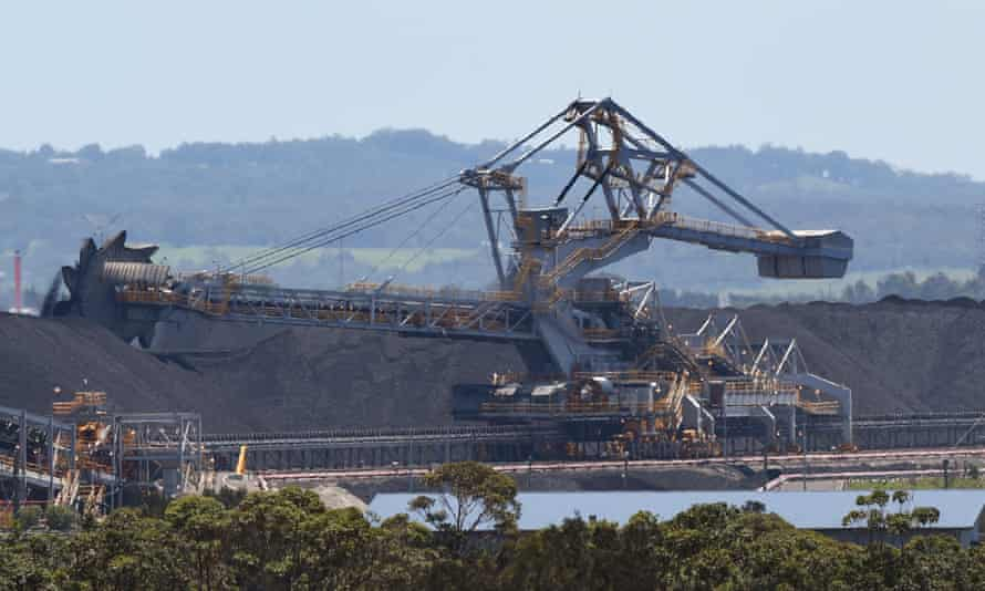 Coal operations at the Port of Newcastle