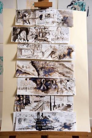Nina Gross's artwork.