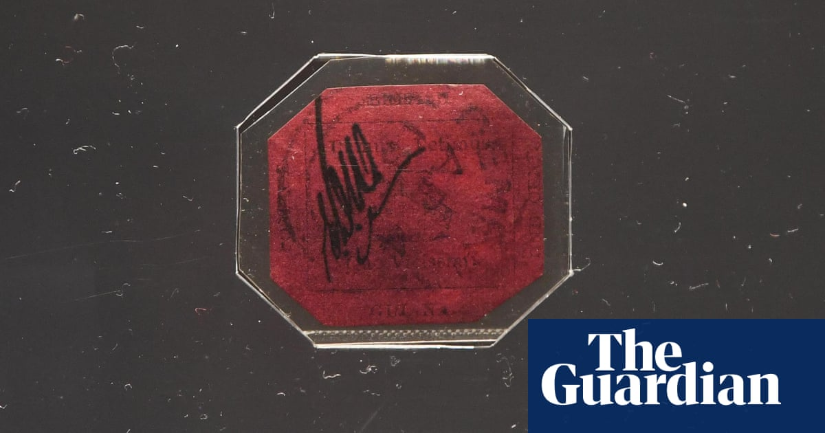 World's most valuable stamp expected to sell for up $15m in London