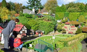 Tiny houses … Bekonscot Model Village, Buckinghamshire.